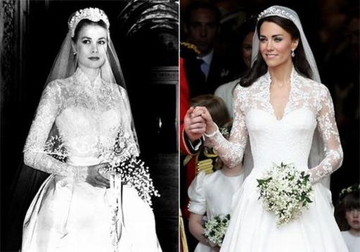 Знаменитые свадебные платья