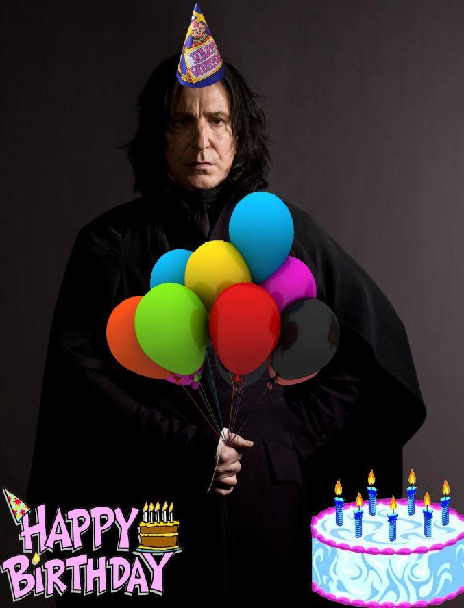 Поздравления с днём рождения в стиле гарри поттера