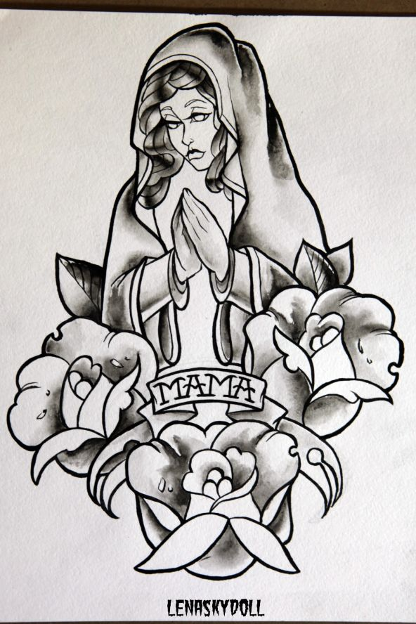 эскизы татуировок олд скул: