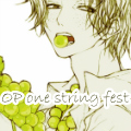 One Piece one string fest