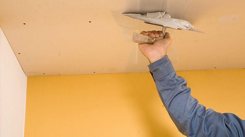 Своими руками ремонт потолков