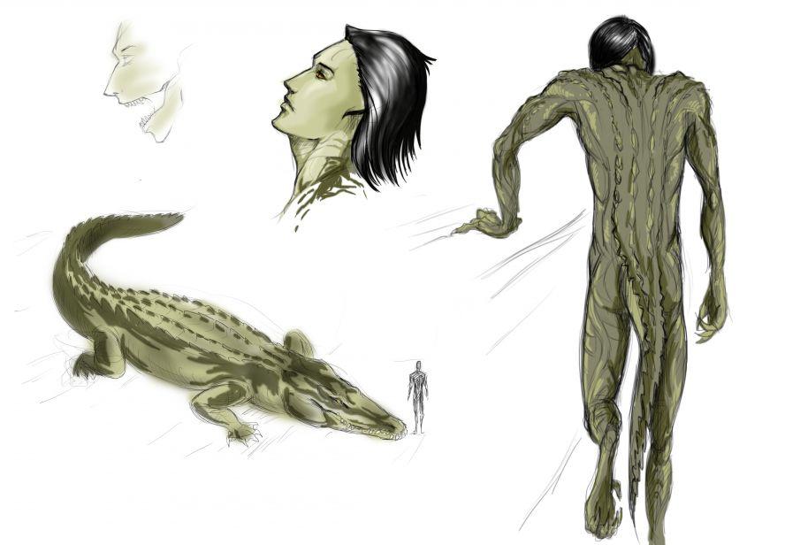 Фурри крокодилы