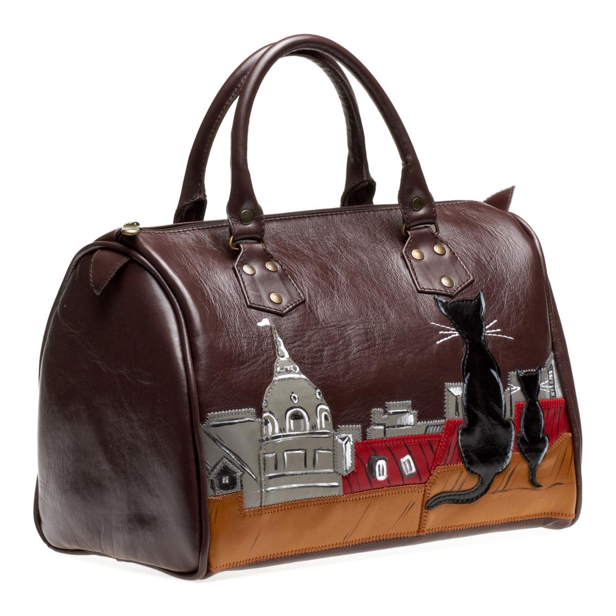 В Мастерской авторских сумок Любови Кургузовой вы сможете заказать дизайнерские сумки из натуральной кожи...