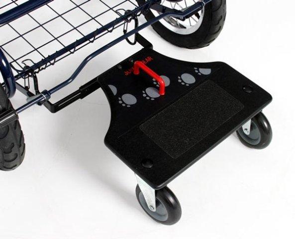 Как сделать подножку для коляски своими руками