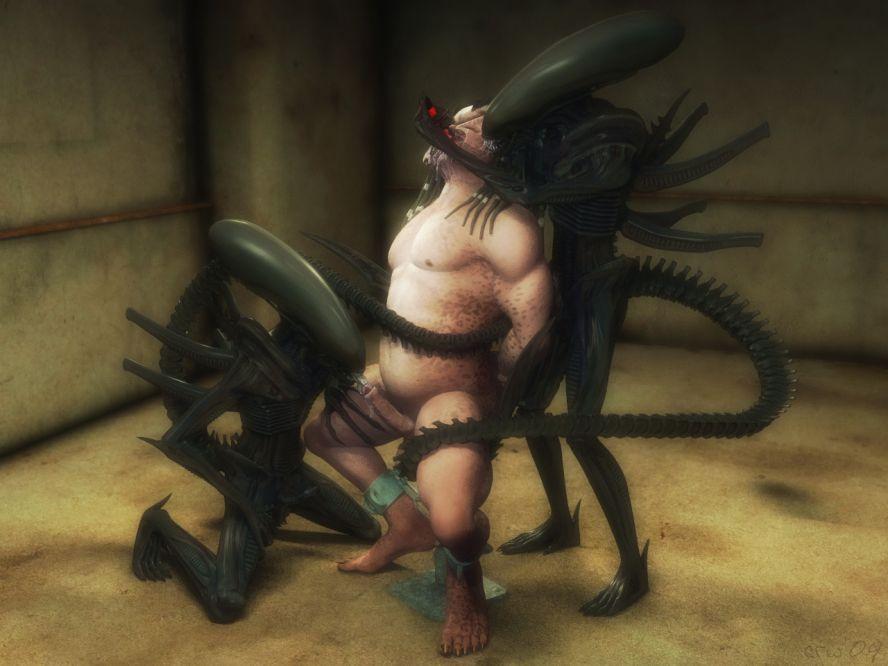 predator Alien porno vs