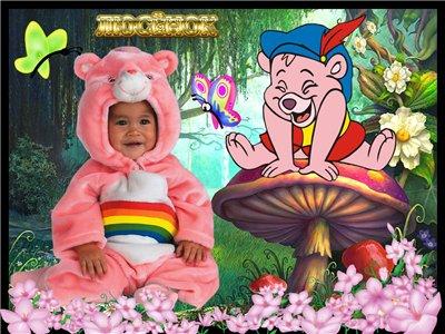 Рубрика. розовый мишка Файл: PSD/300dpi Все слои раздельно и скрыты.