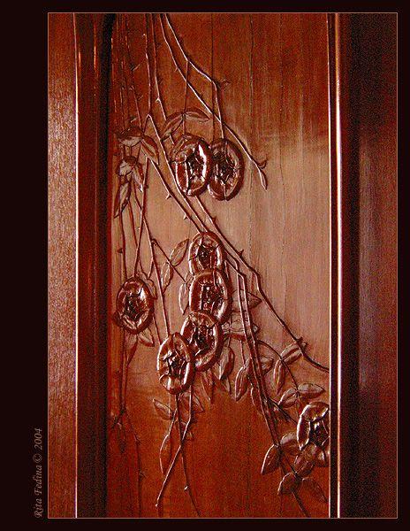 Декупаж межкомнатных дверей мастер класс