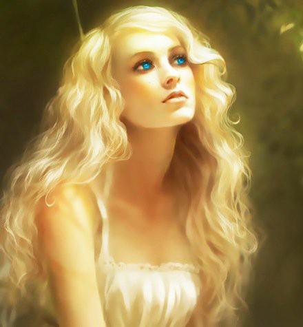Страстная и умопомрачительная блондинка манит к себе