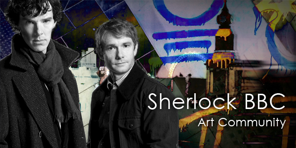 Sherlock BBC Art Community