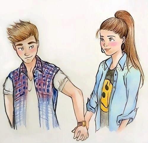 Крутые рисунки подростков