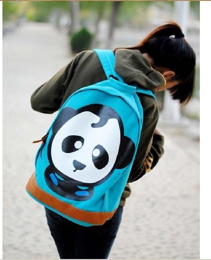 оптом Модный рюкзак голубого цвета.