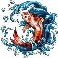 Рыбка Кои