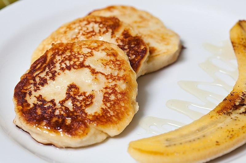 Сырники из творога рецепт с бананом пошагово