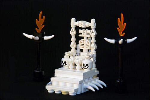 Трон из черепов - completed! - Basara Non-Kink