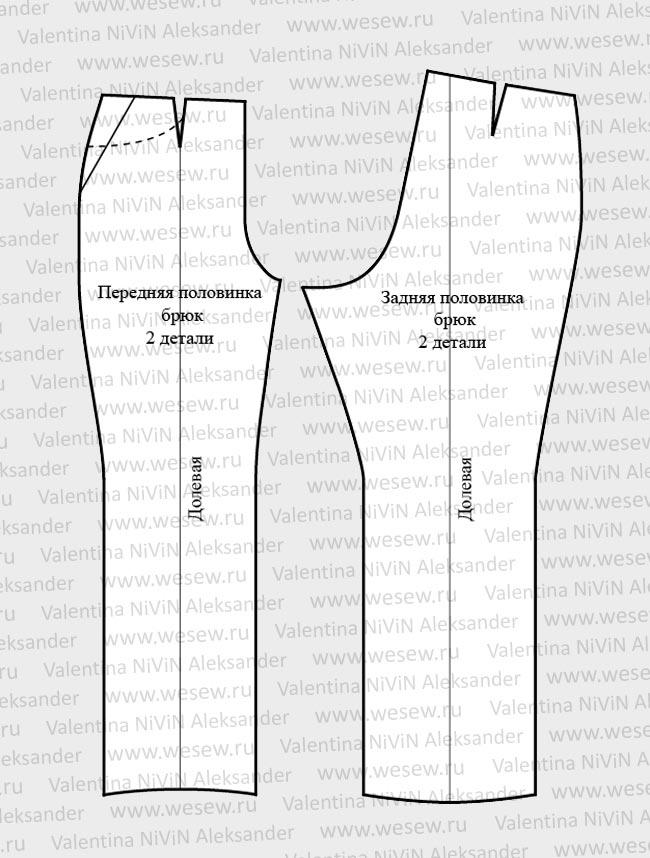 Выкройка женских брюк это тот навык, который сможет обеспечить вас красивыми и модными. это такой материал