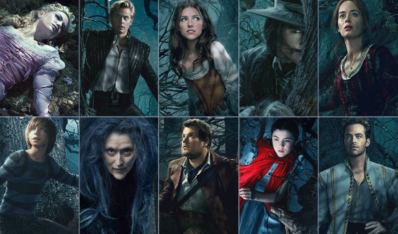 into the woods Directed by rob marshall with anna kendrick, meryl streep, chris pine, emily blunt a witch tasks a childless baker and his wife with procuring magical items from classic fairy tales to reverse the curse put on their family tree.