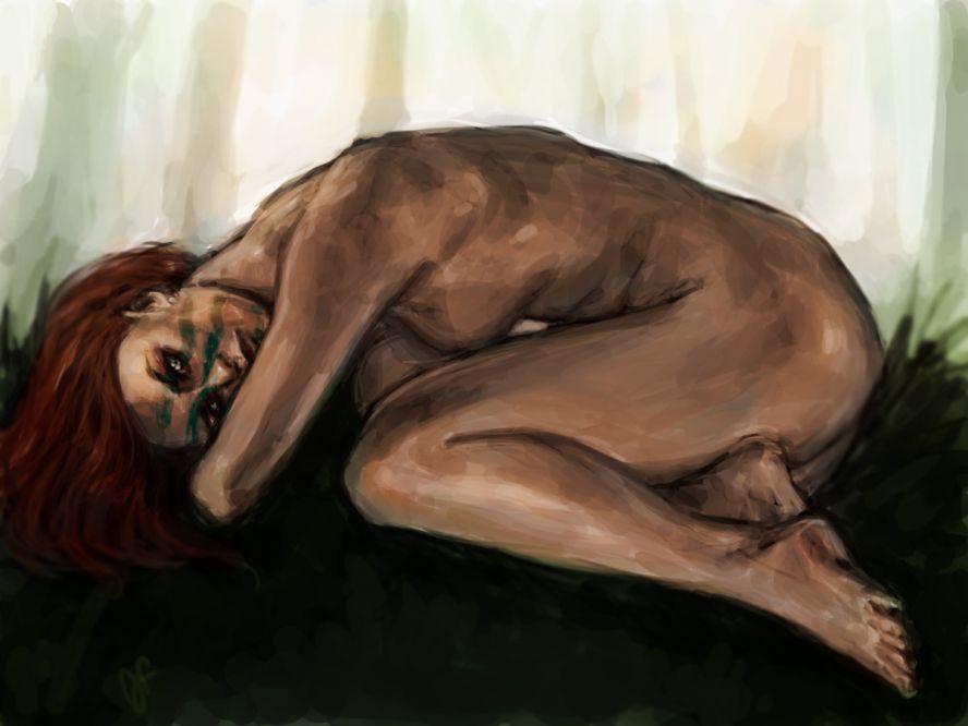 golaya-eyla-ohotnitsa-iz-skayrima