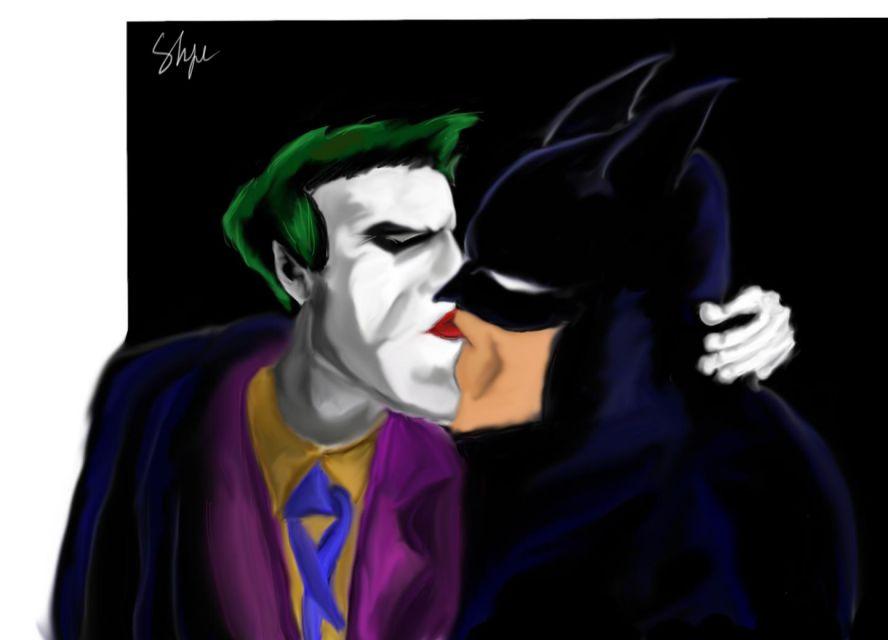 джокер бэтмен трахает