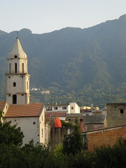 Гора Сомма, сестра Везувия.