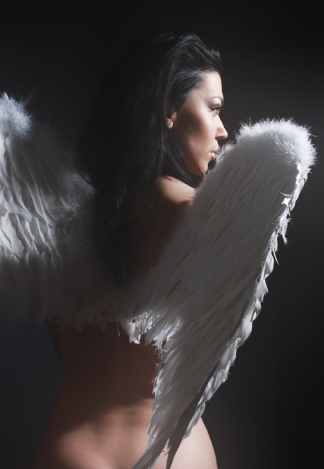 Фото ангелов девушек на аву