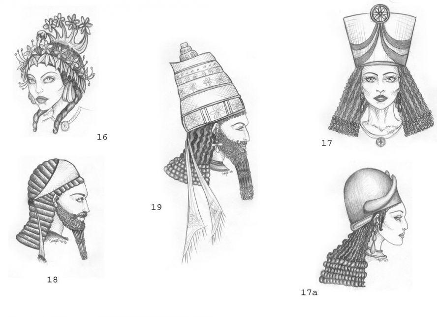 Все о прическах в ассирии