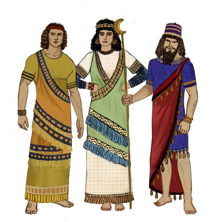 Костюм ассирийца