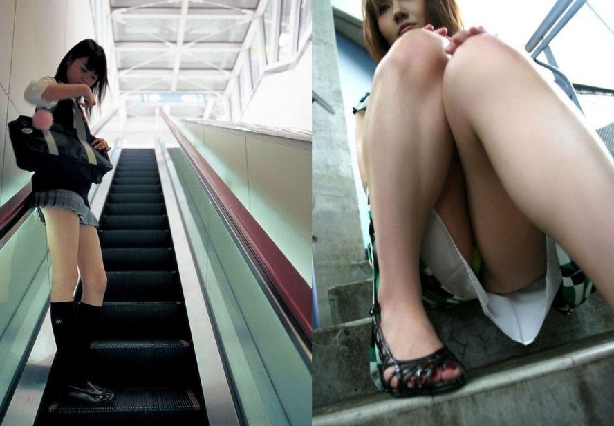 Трусы под  японских школьниц