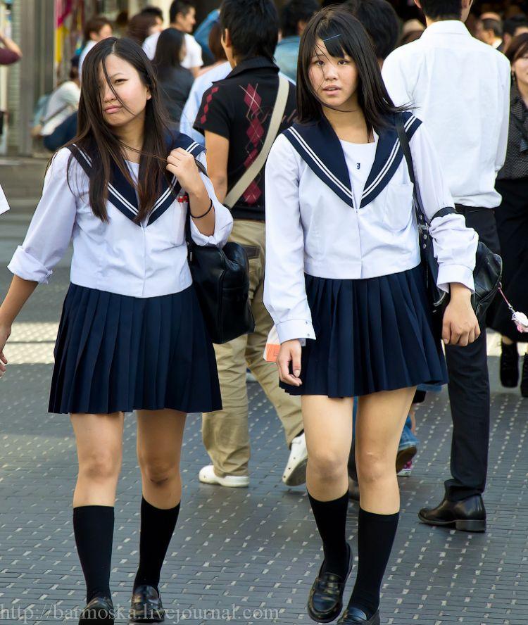 две японки в школьной форме порно