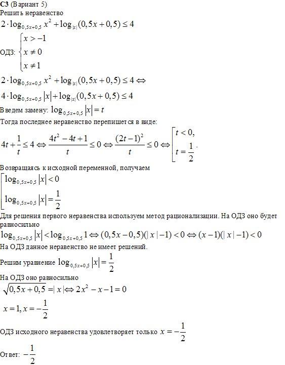 Математика 11 класс вариант 12 ответы запад без производной