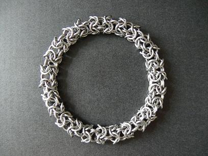 Плетение браслетов из кольчуги