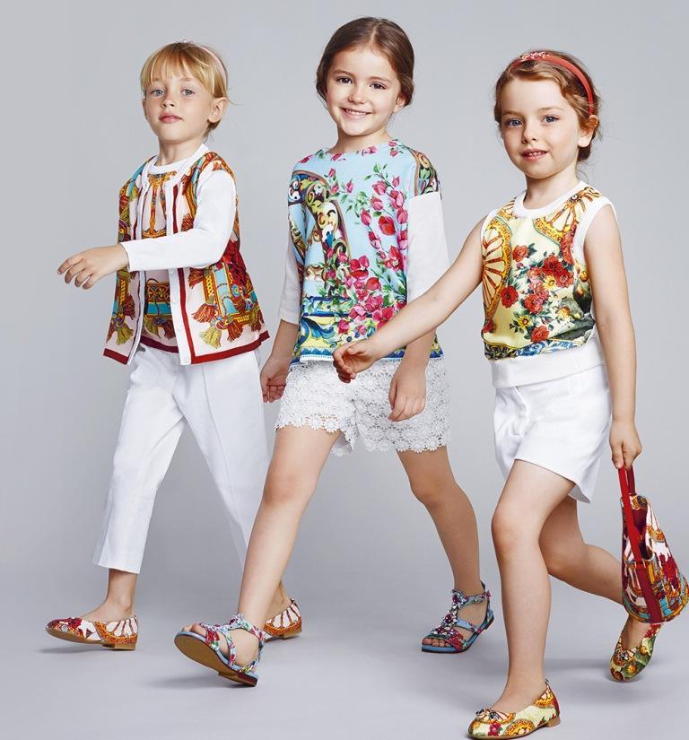 Детская мода осень-зима в фото для девочек и