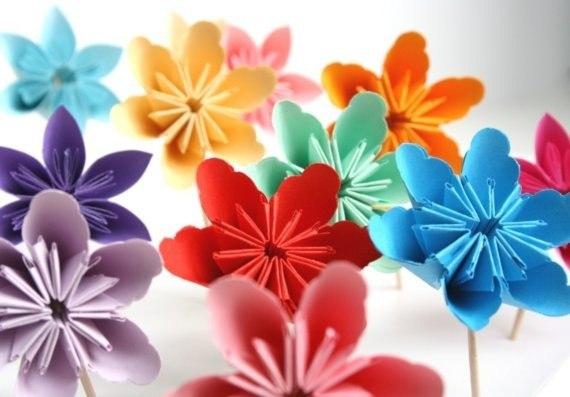 Цветы из бумаги - Just Design - Сообщества и развлечения - Ossbe.com.