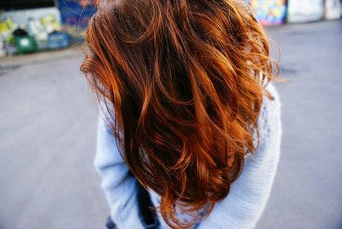 Девушка со спины рыжа фото фото 170-81
