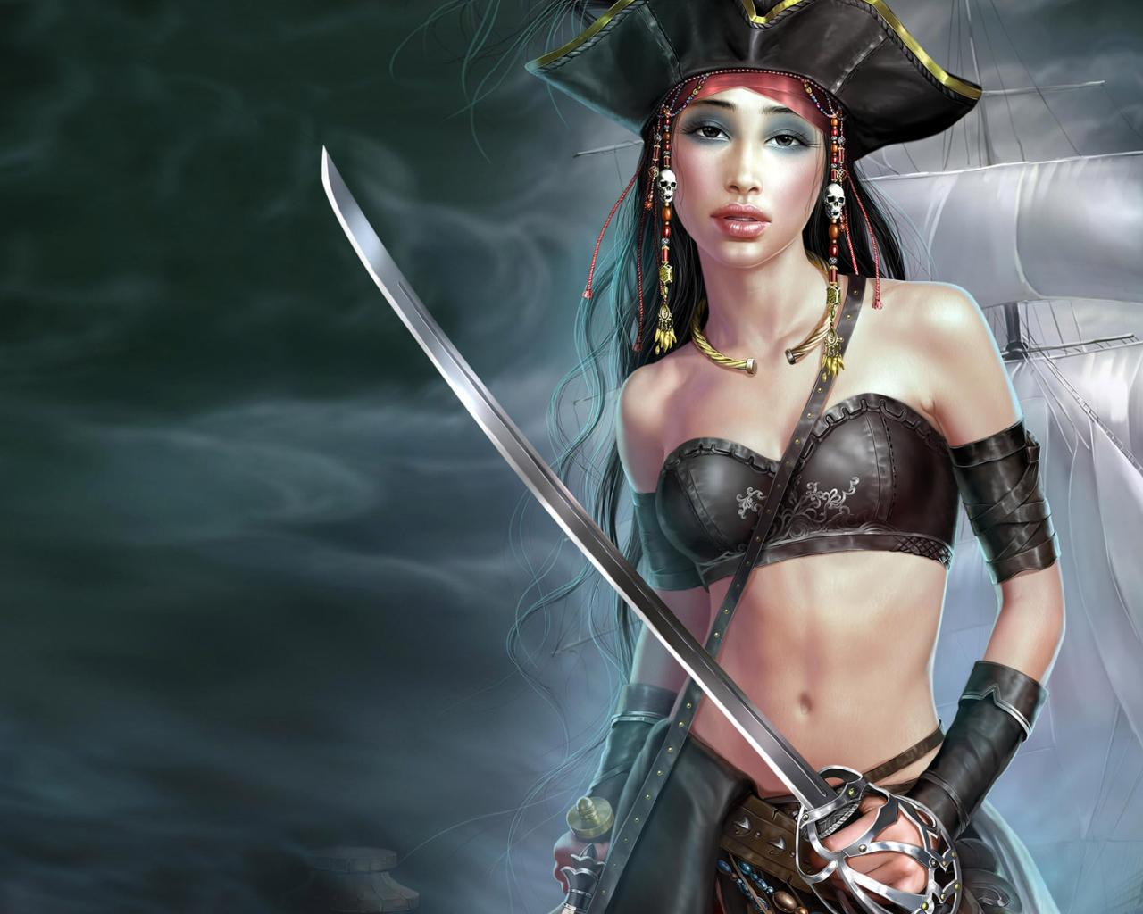 Female pirates images sexy movies