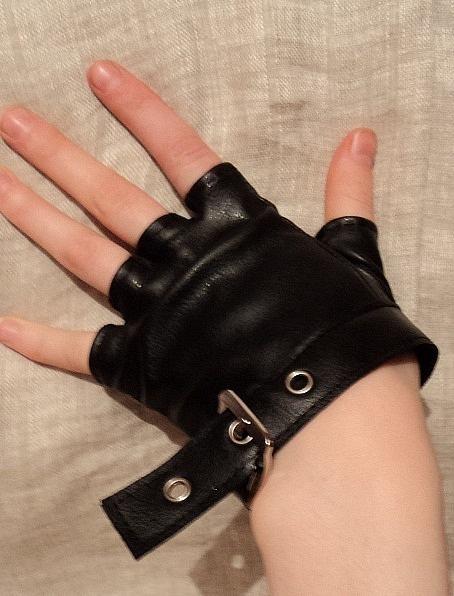 Как сделать перчатки без пальцев своими руками мужские 20
