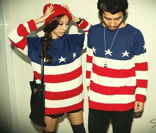 картинки вязаных свитеров американский флаг