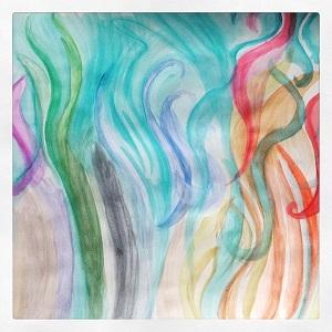 фото пробы цветов акварельных красок