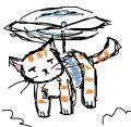 Кот-вертолет