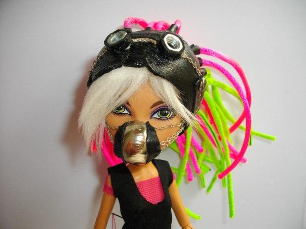 Как сделать для кукол монстер хай парик