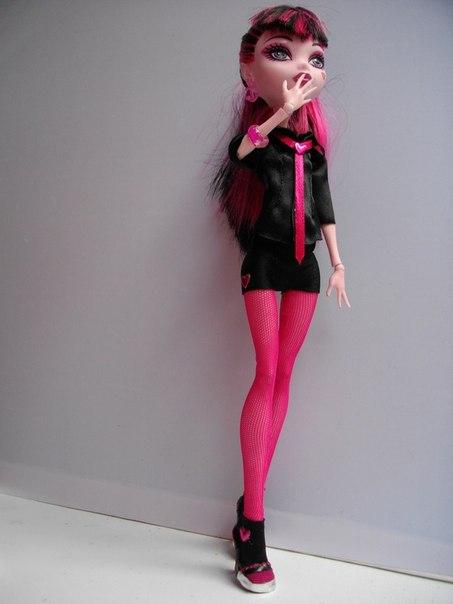 Одежда для кукол монстр хай фото своими руками
