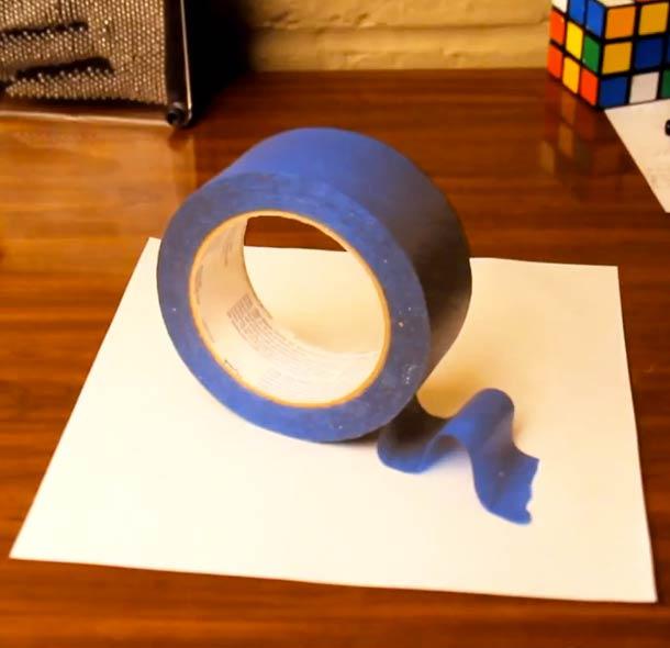 Как сделать из бумаги триде