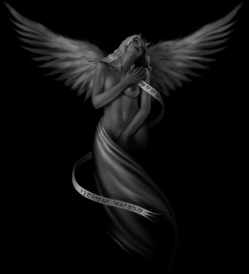рисунок ангела: