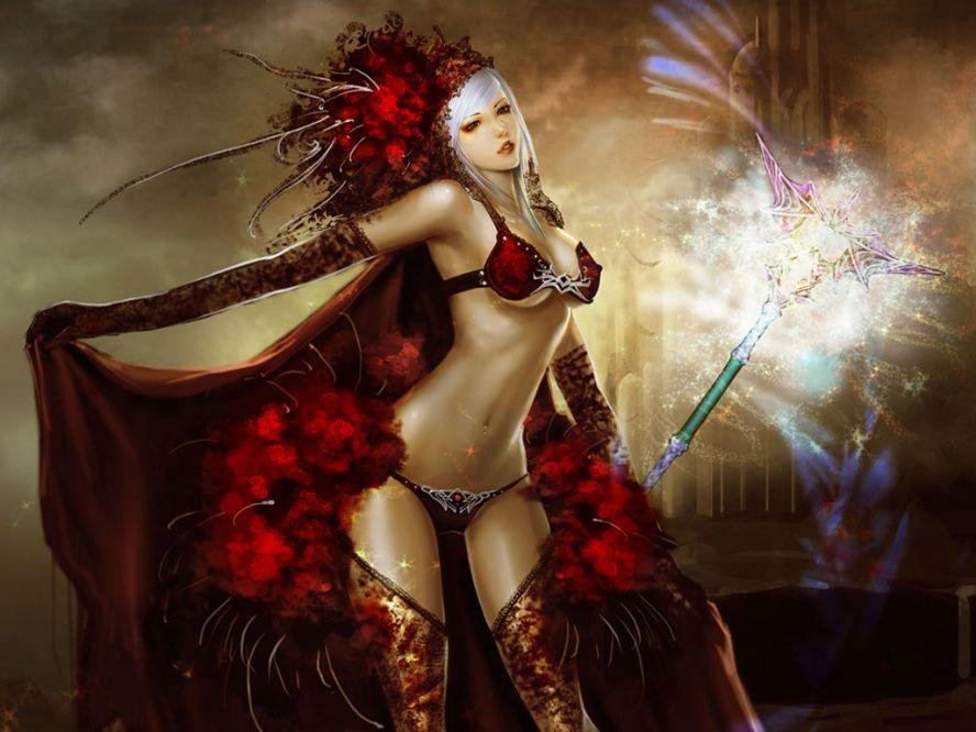 Сексапильные воительницы