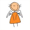 Мультяшный ангелок