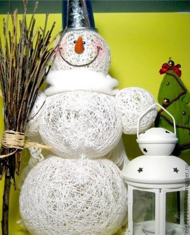 Снеговики своими руками к новому году фото