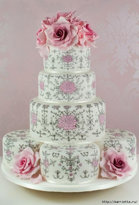 Самые лучшие фото свадебного торта