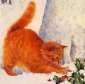 Рыжая кошка Леворукого