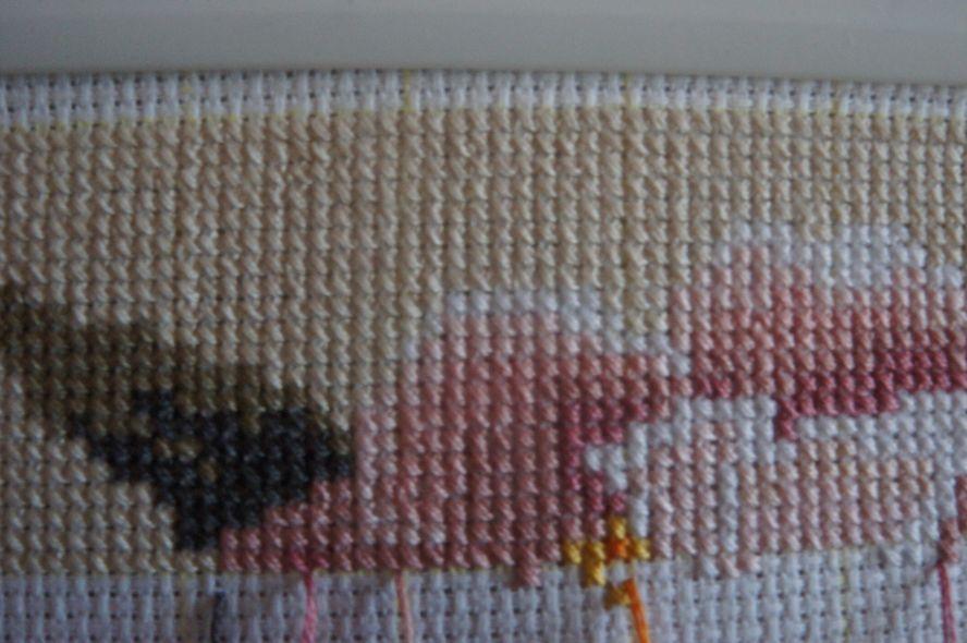 Ровные крестики при вышивке