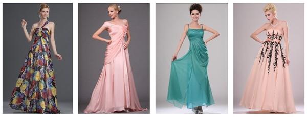 Серьги для платья в греческом стиле