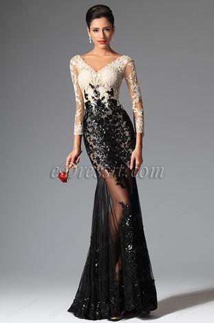 Фасона вечерних платьев с рукавом